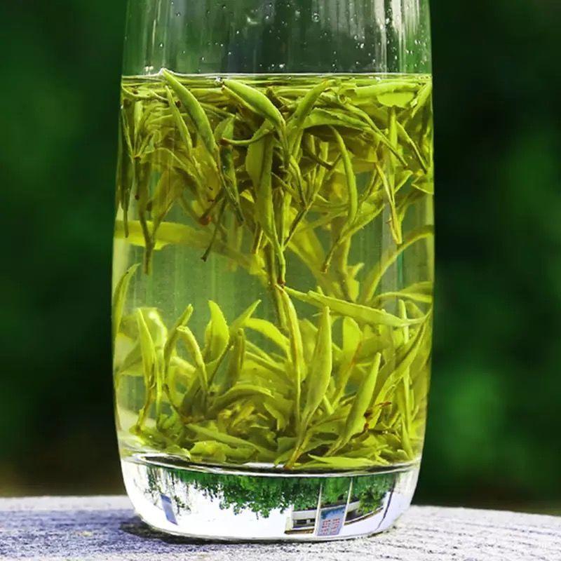 13431-一芽二叶 2021新茶雨前黄山毛峰绿茶散装茶叶春茶毛尖茶袋装250g-详情图
