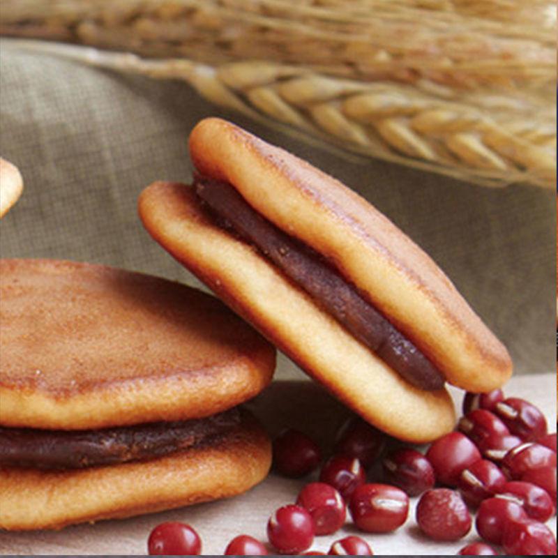 27505-铜锣烧整箱夹心蛋糕红豆早餐零食充饥夜宵面包饼干点小吃休闲食品-详情图
