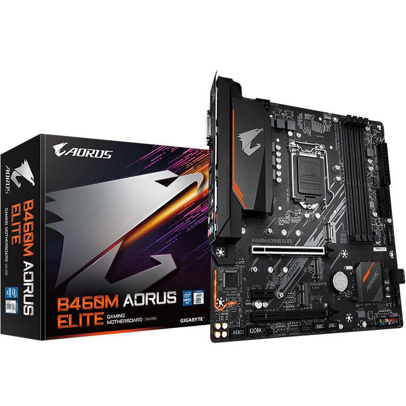 技嘉B460/H410主板加酷睿i5 10100F/10400F/10600KF/盒装CPU套装