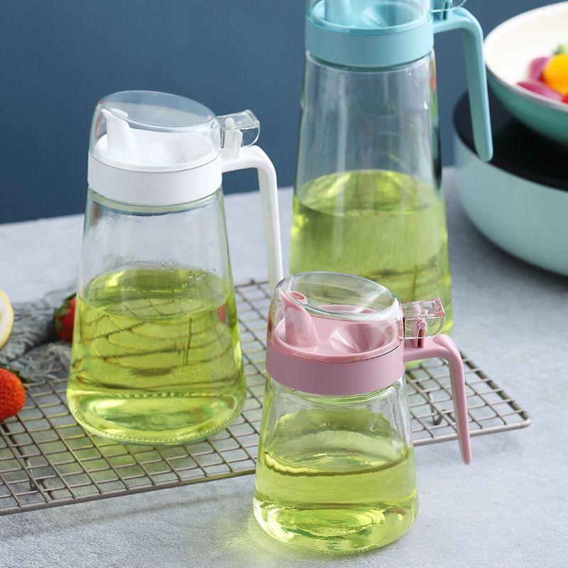 玻璃油壶创意厨房用品家居日用百货调味瓶调味罐酱油瓶醋壶酱油壶