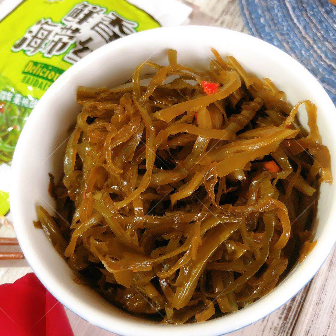鲜香海带丝小咸菜10包海带丝麻辣下饭菜