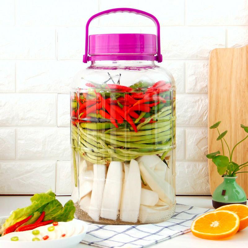 高档泡酒玻璃瓶腌菜泡菜罐子密封梅酒瓶家用坛子酵素桶酿酒瓶子