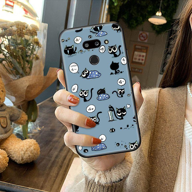 LG G8 THINQ手機殼防摔G8保護套創意時尚網紅抖音硅膠彩繪軟殼