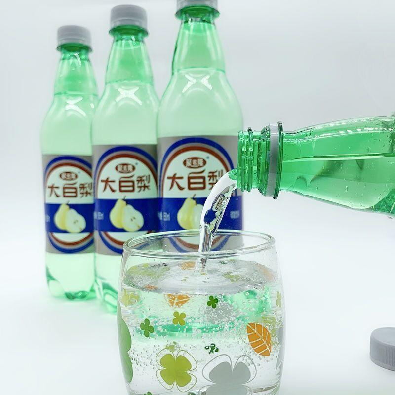 54307-夏季冰镇 大连汽水 大白梨 老汽水东北童年果味碳酸饮料果味饮品-详情图