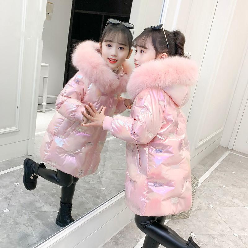 女童棉衣加厚冬季羽绒棉服2020年新款洋气中大童儿童外套冬装棉袄