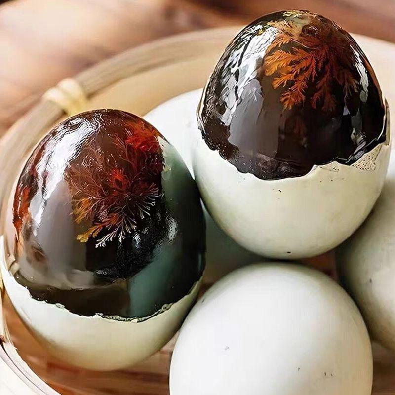 【亏本10万个皮蛋】溏心松花皮蛋无铅超大土鸭蛋腌制皮蛋批发一箱
