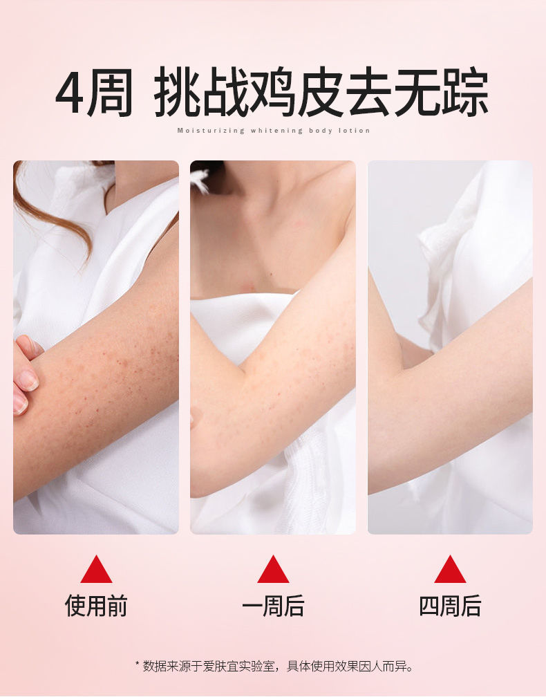 仁和美白身体乳全身美白保湿补水学生香体乳持久留香