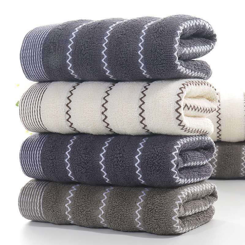 棉质毛巾回礼成人洗脸家用柔软手巾厚吸水家庭男女洗澡擦脸批发