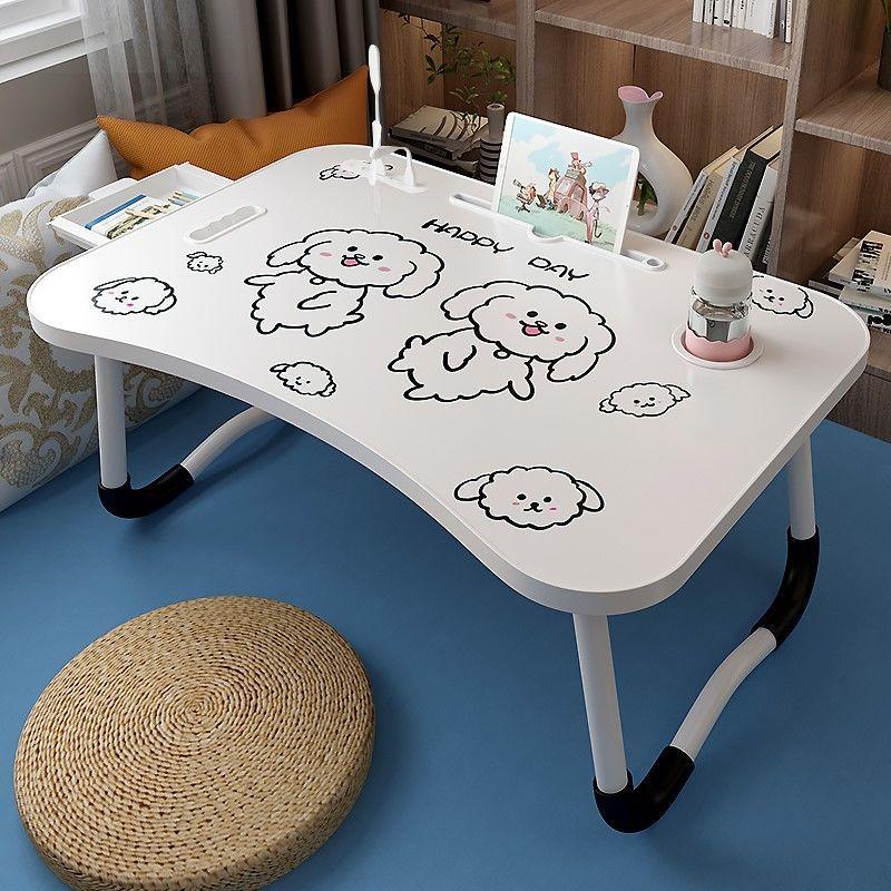 床上书桌笔记本电脑桌学生宿舍写字桌小桌子折叠桌宿舍神器