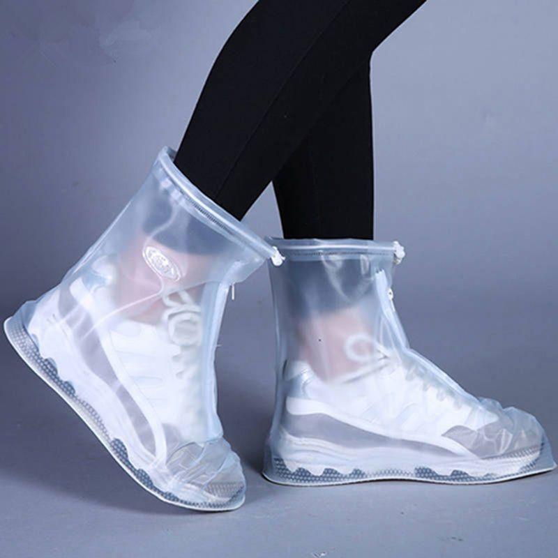 【防滑耐磨款】雨鞋套下雨天防水鞋套可洗男女防水防滑加厚成人