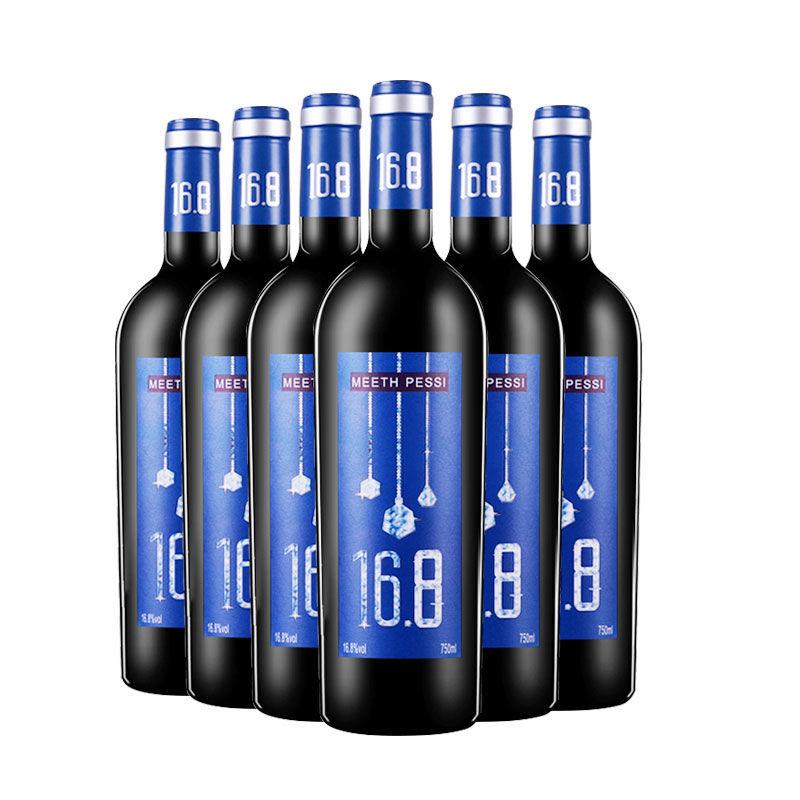 75868-澳洲进口16.8度红酒整箱干红葡萄酒稀有高度数750MI*6支-详情图