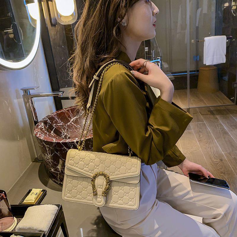 韩版时尚单肩斜挎小方包