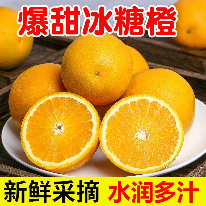 【坏果包赔】麻阳冰糖橙甜橙当季新鲜水果橙子包邮3斤/5斤/9斤