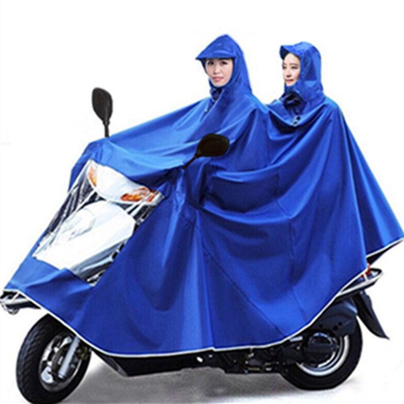雨衣电动车单双人摩托车雨衣加大加厚男女成人防暴雨电瓶车雨披