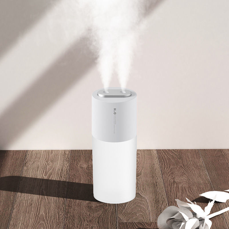 2021双喷加湿器大雾量大型静音家用卧室办公室桌面空气净化车载香
