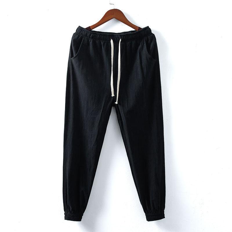 束脚哈伦裤中国风灯笼裤
