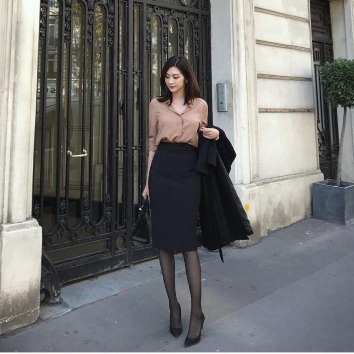 春夏新款半身裙高腰包臀裙通勤韩版职业裙
