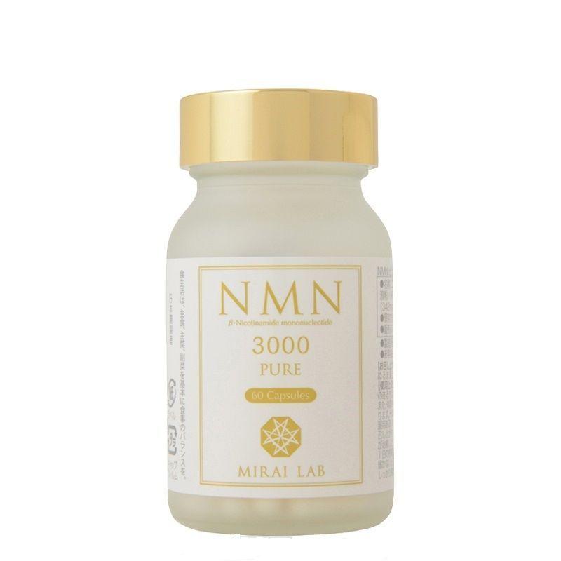 带防伪日本直邮新兴和NMN3000+美肌丸紧实肌肤提升睡眠MIRAI LAB