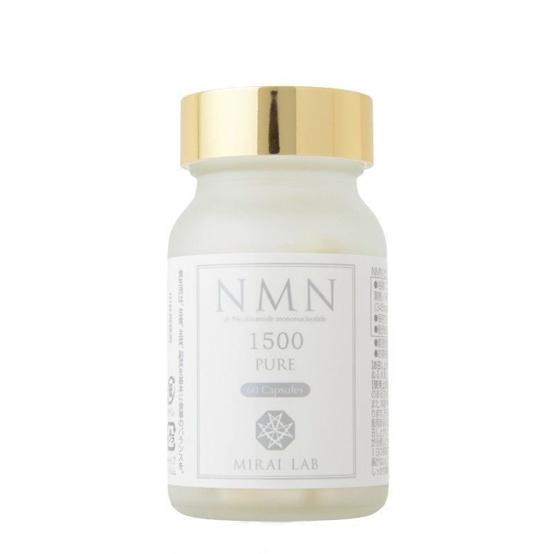 带防伪日本直邮新兴和NMN1500+美肌丸紧实肌肤提升睡眠MIRAI LAB