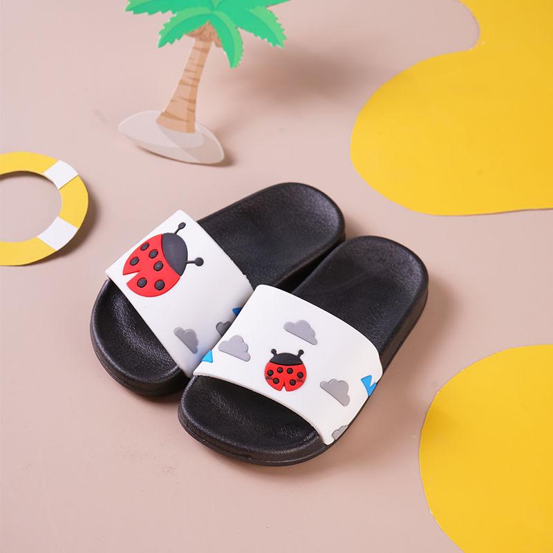 儿童卡通拖鞋女夏季中大童凉拖鞋男女童居家室内防滑软底凉拖鞋女