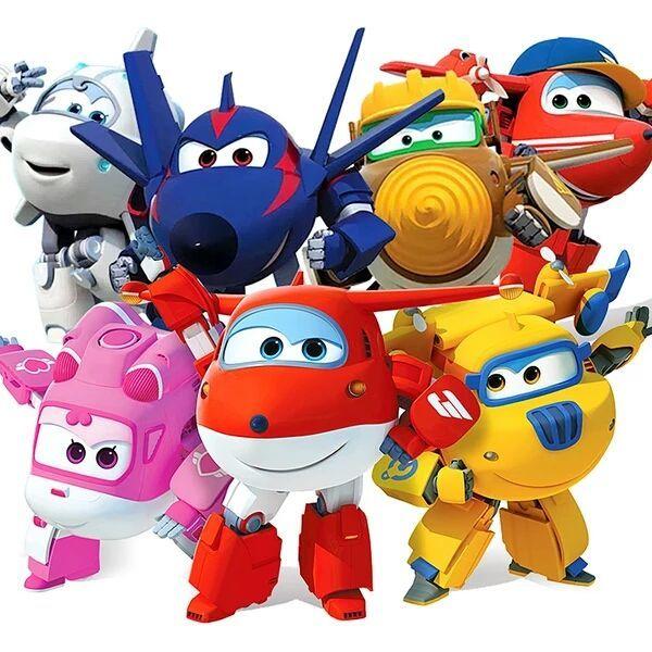 超级飞侠玩具大号变形机器人大号超级飞侠套装乐迪小爱变形玩具