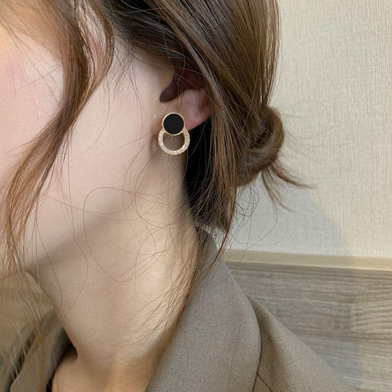 88588-耳钉冷淡风气质高级感女2021新款ins风轻奢耳饰百搭925银针耳环-详情图