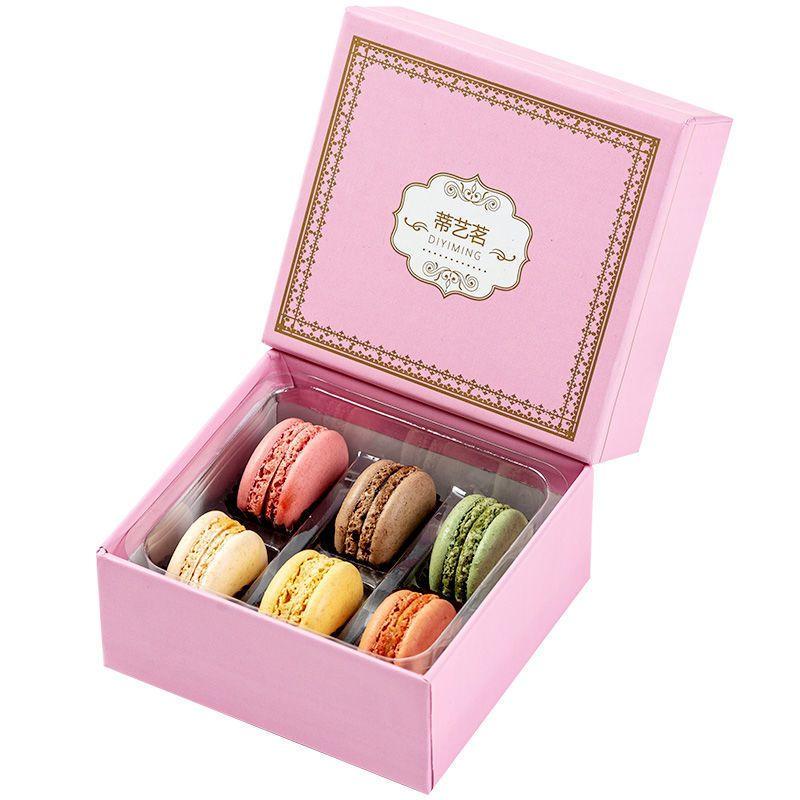 马卡龙甜点手工蛋糕休闲办公生日零食礼盒