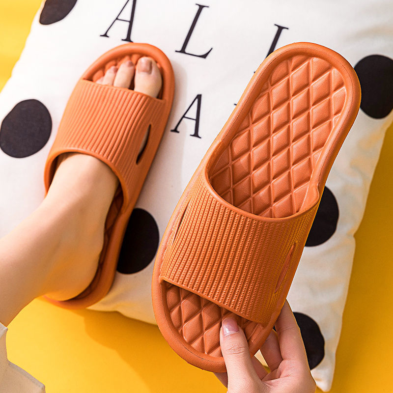 买一送一拖鞋女家用夏天室内居家居洗澡浴室防滑静音软底凉拖男