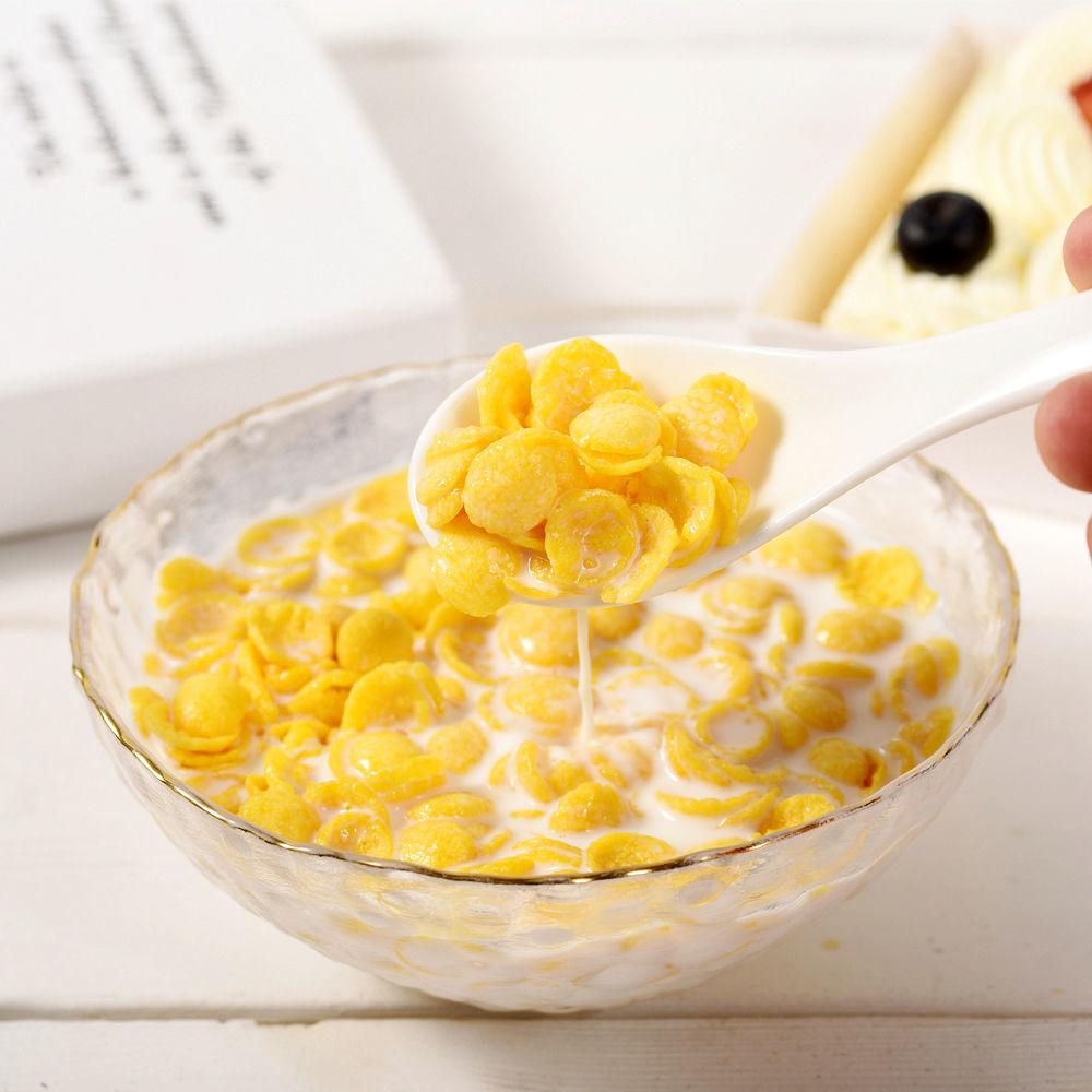 0脂肪非油炸干吃香脆玉米片即食酸奶冲泡低卡瘦身早餐休闲小零食