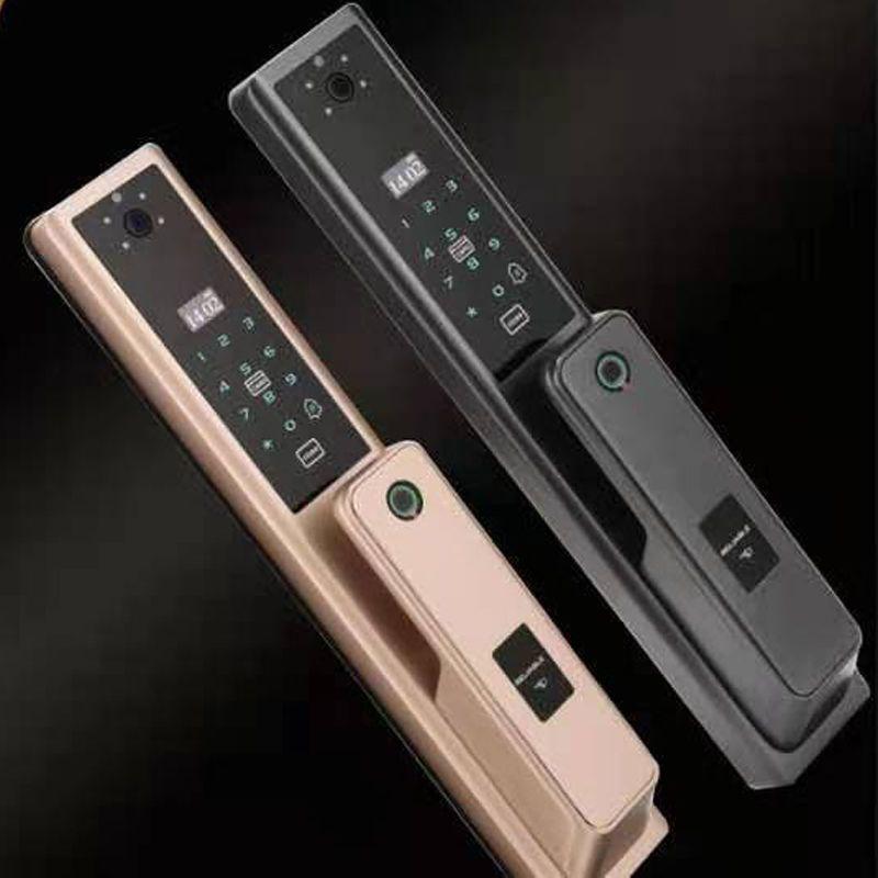 敏敦智能指纹锁智能电子锁家用防盗门密码锁防小偷