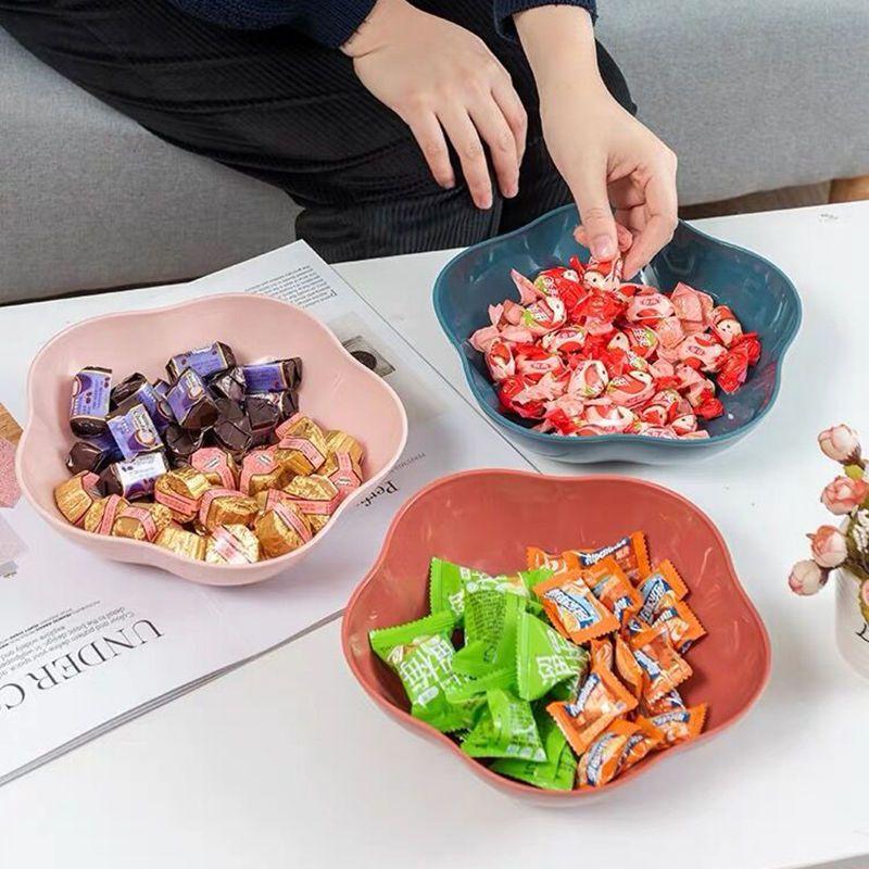 塑料果蔬盘子大号零食糖果盘 欧式干果盘