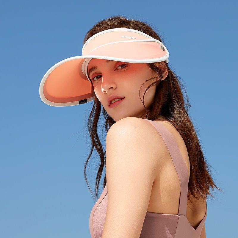 蕉下 遮阳帽防晒帽防紫外线帽子女夏天户外骑行加宽帽檐帽
