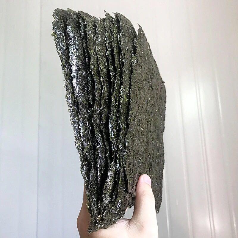 75805-野生紫菜干货100克一斤散装紫菜海苔零食紫菜汤泡冲即食无沙免洗-详情图