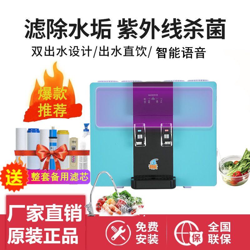 日本杀菌净水器家用直饮加热一体机壁挂自来水过滤反渗透冷饮水机