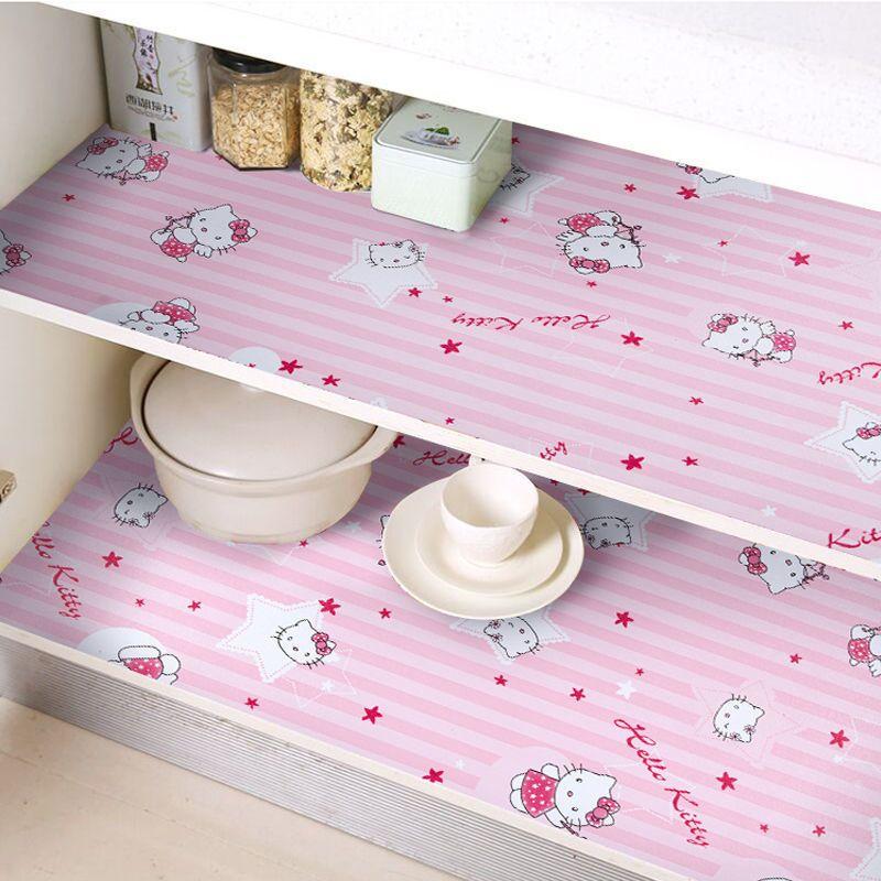 厨房防水防油贴纸橱柜垫纸防油污抽屉衣柜鞋柜防潮垫桌面柜子贴纸