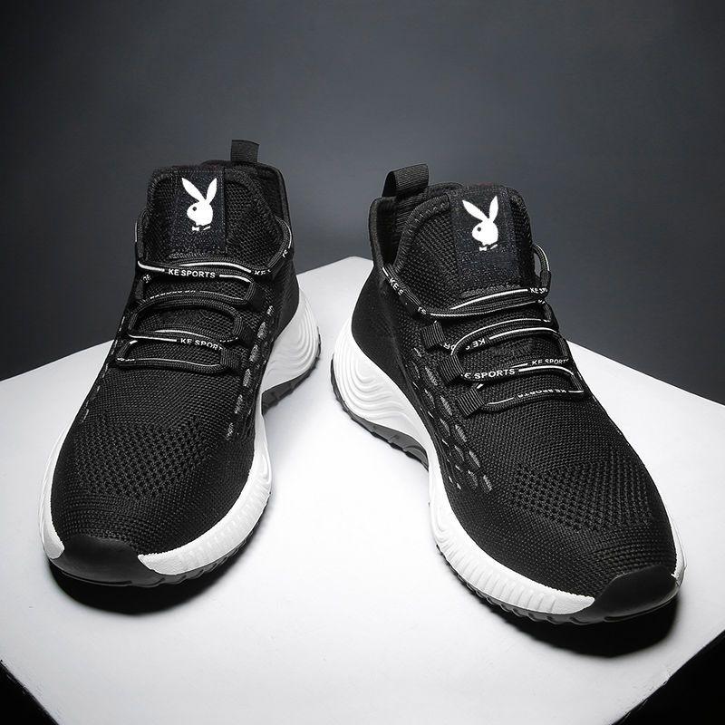 鞋子男春季款花花公子国际公司出品PLAYYOUNG潮流百搭休闲运动鞋