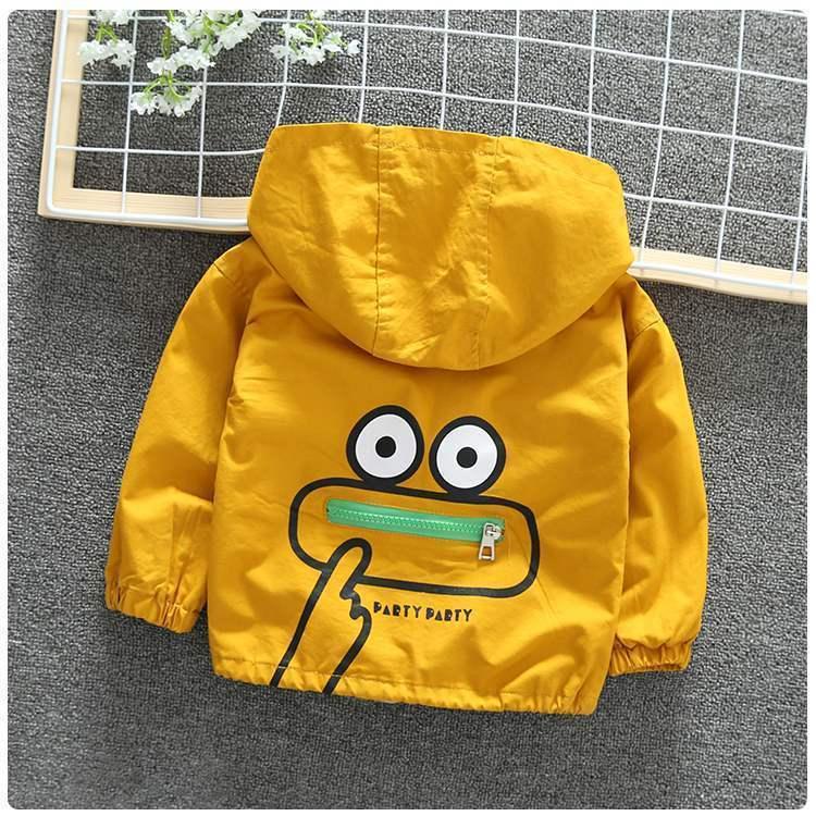 儿童装男女童春款外套洋气风衣2021新款小童夹克宝宝韩版休闲上衣