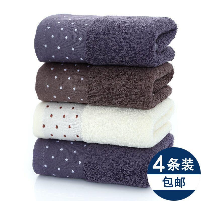纯棉毛巾卷洗脸洁面洗澡擦脸加厚吸水家用成人男女不掉毛新款面巾
