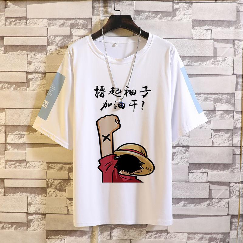 短袖t恤男士ins潮牌潮流宽松五分半袖2021年新款夏季男装学生衣服