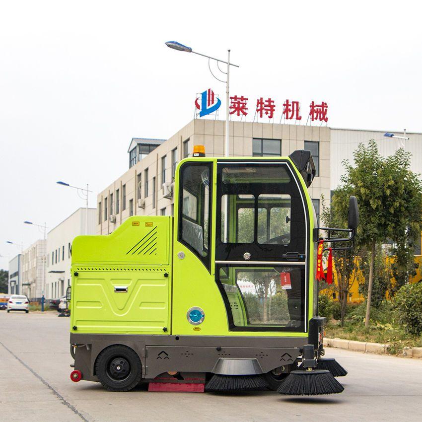 驾驶式扫地机工厂车间仓库物业小区环卫马路小型电动扫地清扫车
