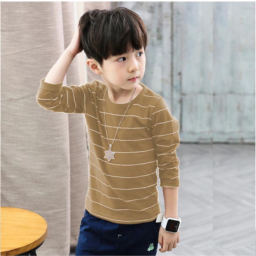 童装男童长袖t恤纯棉儿童打底衫
