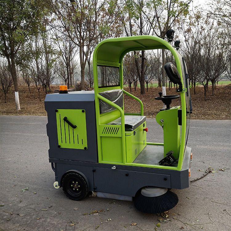 驾驶室扫地车清扫车工厂工程物业道路公园景区电动小型户外扫地机