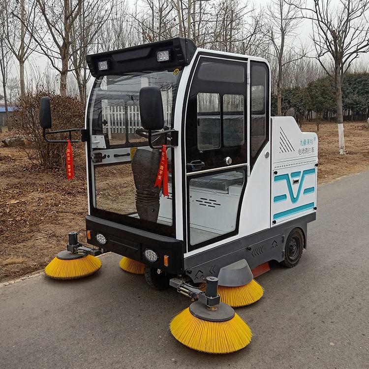 驾驶式小型电动扫地车工厂车间物业道路扫地机环卫保洁清扫车厂家