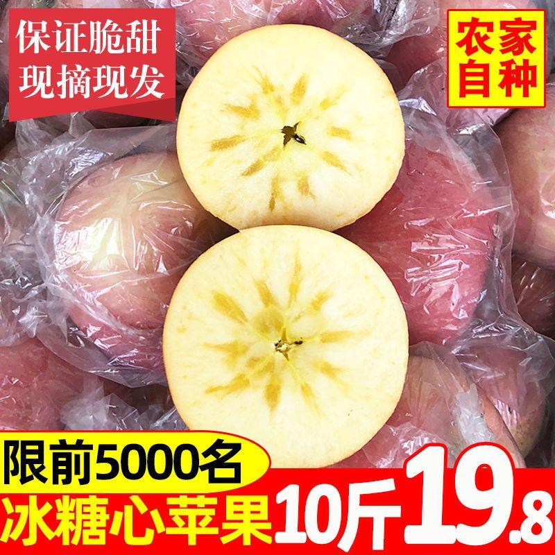 【批发价】冰糖心苹果水果新鲜应季红富士脆甜丑苹果10斤5斤3斤装