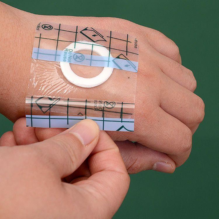 医用防水pu膜透气敷贴膏贴透明胶布三伏三九贴空白贴进口胶低致敏