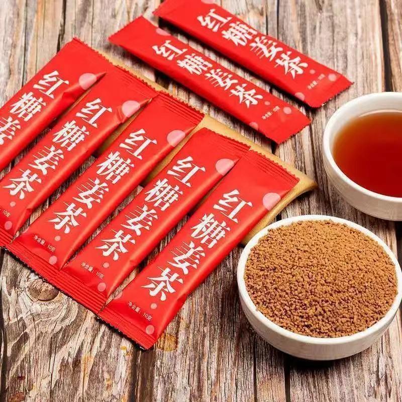 红糖姜茶调理月经大姨妈驱寒暖宫祛湿暖胃补气血条50包/500克