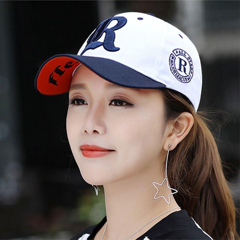帽子女韩版学生夏季防晒棒球帽男可调节鸭舌帽户外骑车情侣遮阳帽
