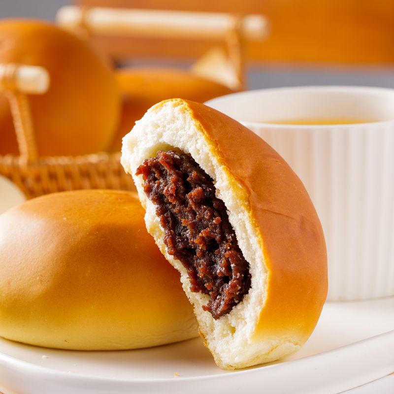 红豆沙软面包老式传统工艺面包营养早餐代餐零食面包整箱批发
