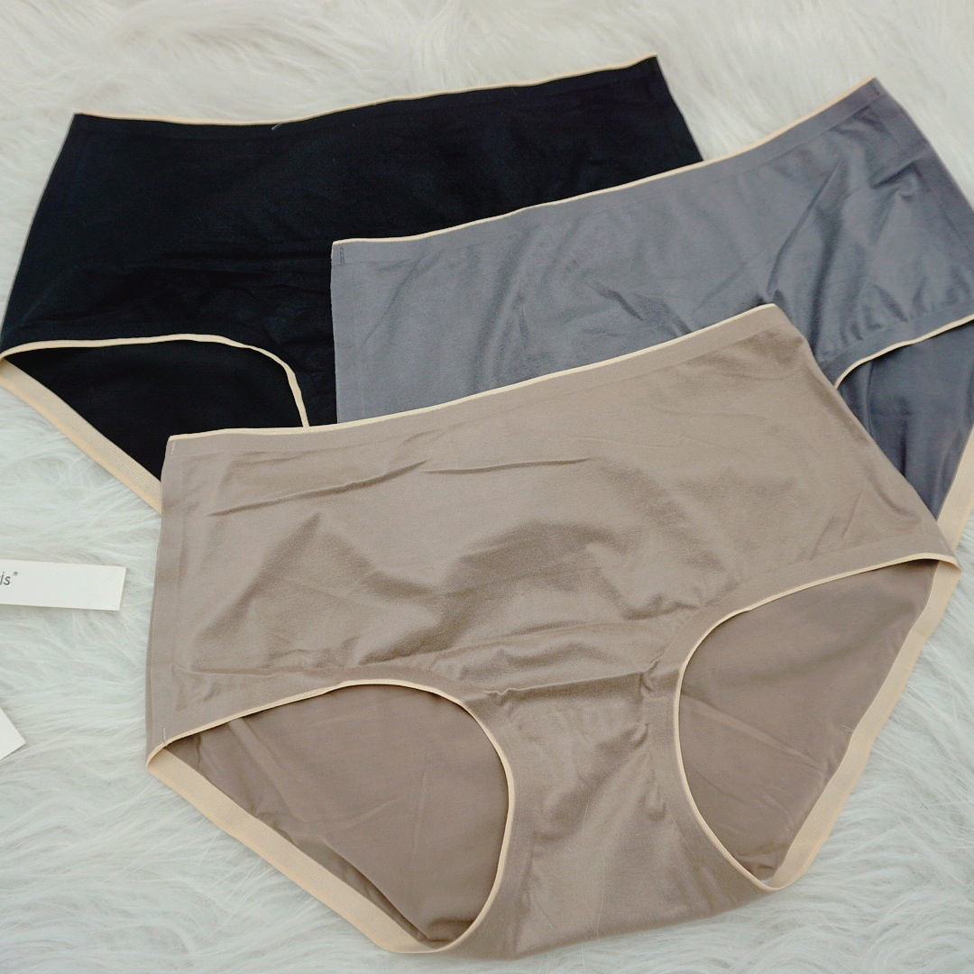 CaldiceKris2021新款极简风舒适女内裤0899