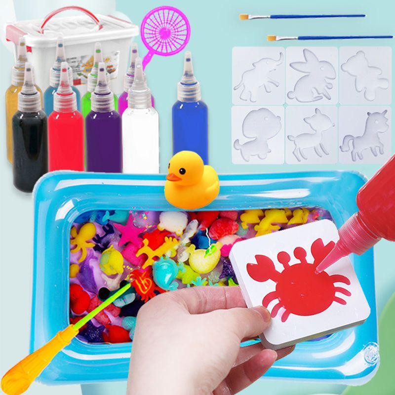 抖音魔幻水宝宝水精灵儿童女孩益智玩具